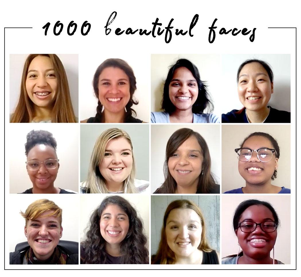 TruBeu 1000 beautiful faces